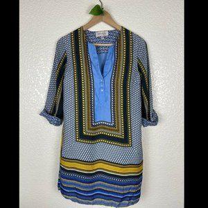 Philosophy Tribal Print Tunic Shift Dress